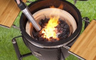 Как быстро разжечь гриль ? Monolith Grill Looftlighter