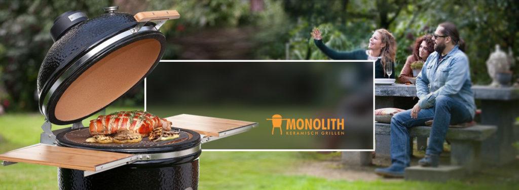Купить лучший немецкий керамический гриль Monolith Grill