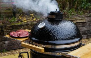 Как выбрать правильный гриль для копчения? Monolith grill