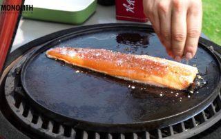 Как приготовить рыбу на гриле Monolith Grill