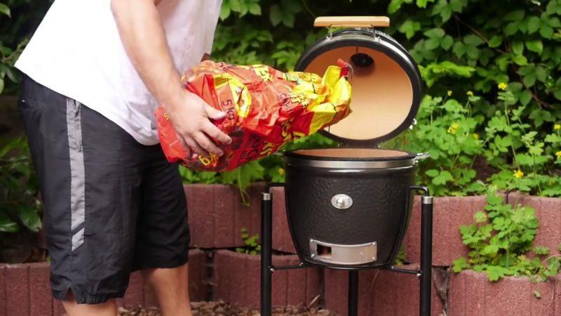 Обзор керамического гриля Monolith grill Junior